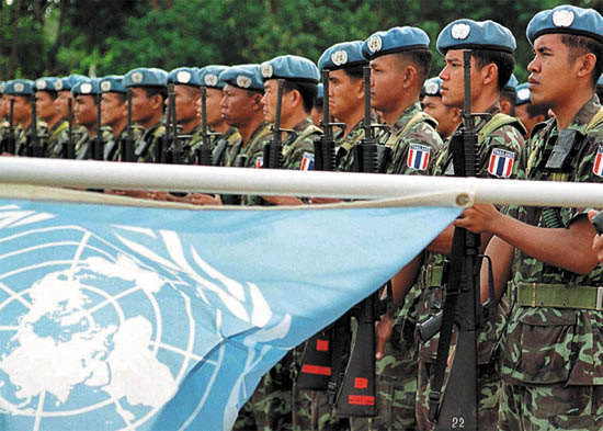 Countries Providing the Most Troops to the UN Peacekeeping Force